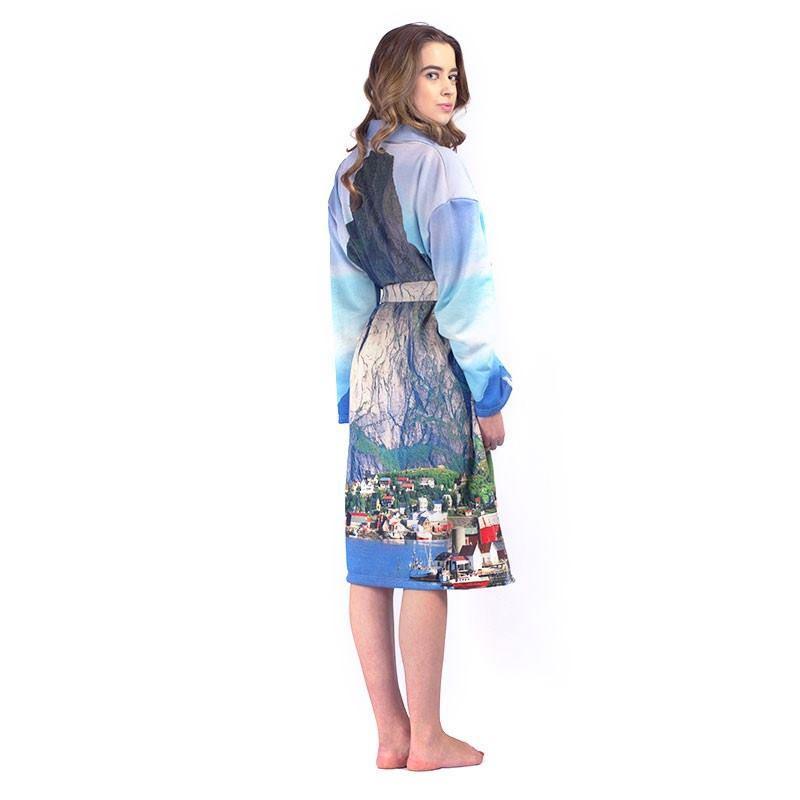 Personalized Bathrobes. Custom Bathrobes With Photos & Text